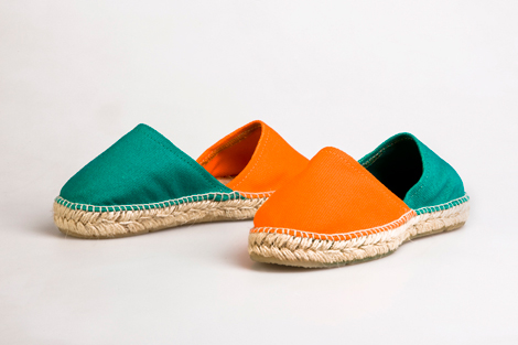 espadrilles bi color